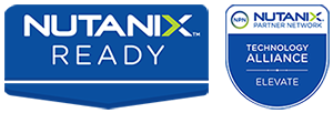 "Logo der Technology Alliance mit Nutanix (""Build""-Level)"